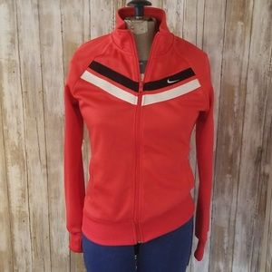 Nike size small zip up